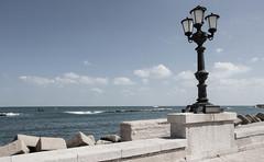 Lungomare Augusto Imperatore (NekoNome87) Tags: sea sun mare lungomare puglia bari