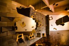 Blowing (fabian9308) Tags: art broken up wall museum mess break destruction blowing blow explotion