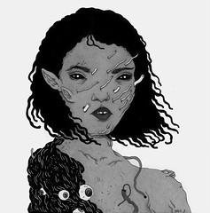 rising (art-creature) Tags: moleskine illustration pen ink drawing sketchbook brushpen fineliner