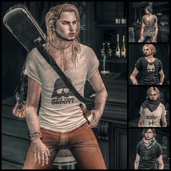 sharp by [ZD] KENNEDY TEE@MOM (Cecilia Blachere) Tags: male fashion by mom march mesh sharp tee kennedy 2016 zd