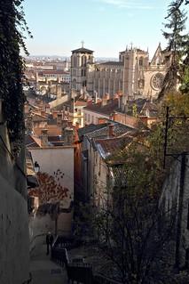 Cette vue sur le Vieux Lyon et la cathédrale Saint-Jean m'a rempli de joie