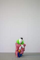 Ugo Rondinone Vocabulary of Solitude 3. (PvRFotografie) Tags: holland museum 50mm clown nederland clowns nex boijmansvanbeuningen ugorondinone minoltamdrokkor50mmf14 sonynex nex6 vocabularyofsolitude
