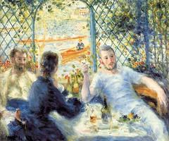 Pierre-Auguste Renoir - Canotiers, Djeuner au bord de la rivire (Greenbelter) Tags: