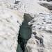 Deep Crevasse On Hispar La, Biafo Hispar Snow Lake Trek, Central Karakoram National Park, Gilgit-Baltistan, Pakistan
