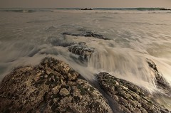 Resonance (connect2sayantan) Tags: sunset sea india beach nikon waves tokina vizag 1116mm d5100