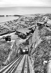 East Hill Cliff Lift (R~P~M) Tags: uk greatbritain england train unitedkingdom railway hastings eastsussex funicular cliffrailway