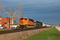 Lucky Strike (view2share) Tags: railroad travel trees wisconsin train river mississippi evening spring track afternoon transport tracks engine rail railway rr trains roadtrip transportation oil rails mississippiriver april wi freight bnsf westbound railroaders springtime railroads bakken freighttrain 2016 railroading emd grantcounty burlingtonnorthernsantafe cassville rring trackage bnsfrailway sd70ace mississippirivervalley electromotivedivision unittrain uppermississippi aurorasub oiltrain uppermississippirivervalley april2016 unitoiltrain bnsf8776 deansauvola april102016