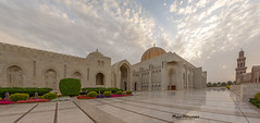 Blessed Friday! (mahernaamani) Tags: panorama beauty weather architecture clouds canon wow landscape photography photo arch photographer cloudy outdoor pano muslim islam country panoramas grand mosque architect sultan oman qaboos byme muscat masjid 6d   sultanateofoman sultanate     24105mm        sultanqaboosgrandmosque mylovelycountry     canon6d    myoman loveoman