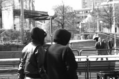 People passing on the street (blondinrikard) Tags: primavera gteborg spring printemps vr 2016