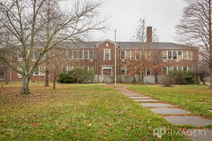 Front of School (AP Imagery) Tags: school abandoned exterior decay kentucky ky forgotten elementary urbanexploring philpot urbex daviessco