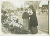 All Saints Day in Paris - 1911 (sctatepdx) Tags: flowers paris france vernacular chrysanthemums 1911 allsaintsday horseandcarriage flowerseller meurisse parisflowerseller henrilouismeurisse