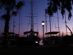 Bodrum, Turkey (Steve Hobson) Tags: light sunset turkey bodrum afterglow