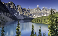 Lake Moraine, Alberta, Canada (Alex Grgoire-Denicourt Photography) Tags: lake canada mountains rockies alberta views moraine lakemoraine