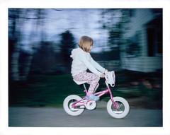 Flyby (Markus Jork) Tags: film bike bicycle polaroid fuji instant 450 flashcube fp100c