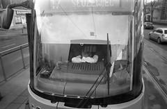 analog Warsaw / analogowa Warszawa (Bartosz Lisek) Tags: people blackandwhite bw analog work canon funny streetphotography vehicle 100 a1 expired dx foma fomapan