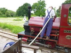 P1050746 (Hampton & Kempton Waterworks Railway.) Tags: loop galaday 2015 darent