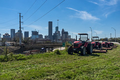 DSCF7055 (alexdotbarber) Tags: tractor downtownhouston masseyferguson fujix100