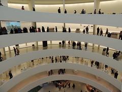 Inside the Guggenheim Museum - Upper East Side - New York City - April 2016 (jeanyvesriou1) Tags: newyorkcity museum architecture manhattan muse guggenheim museo uppereastside spirale thesolomonrguggenheimmuseum muse