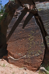 Ancient calendar and clock of the Sinagua people (Rick Brumble) Tags: arizona sedona petroglyph rockart sinogua