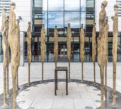 PROCLAMATION BY ROWAN GILLESPIE [ACROSS THE STREET FROM KILMAINHAM GAOL]-113747 (infomatique) Tags: sculpture irishhistory touristattraction proclamation easterrising rowangillespie williammurphy infomatique 1916rebellion zozimuz remember1916 kilmainhanmgaol