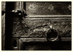 Knock Knock (DuBoy00) Tags: door wood sepia latch