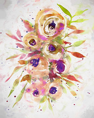 Earth Roses (Tonya Doughty) Tags: flowers roses floral painting earthy