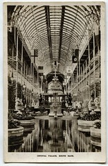 The Crystal Palace, London, South Nave (The Wright Archive) Tags: london vintage crystal postcard south victorian archive palace nave wright 1910 circa thecrystalpalace