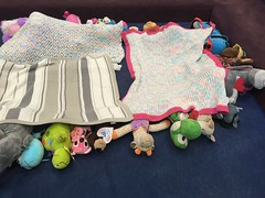Goodnight everyone! (scotchplainspubliclibrary) Tags: animal stuffed sleepover scotchplains scotchplainspubliclibrary