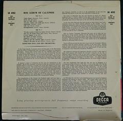 EDMUNDO ROS AND HIS ORCHESTRA ROS ALBUM OF CALYPSOS - RR (richbedforduk) Tags: records artwork vinyl albums labels 12 33rpm lps sleeves