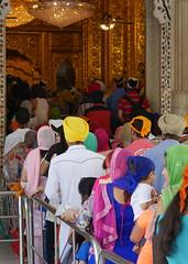 SikhTempleNewDelhi007 (tjabeljan) Tags: india temple sikh newdelhi gaarkeuken sikhtemple gurudwarabanglasahib