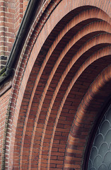 rrrrrrr (meezoid) Tags: urban building london architecture arch stonework synagogue archway brickwork westhampstead iceboxuncool c4u7