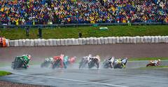 moto GP (dorinser) Tags: rain germany racing grandprix rainy moto motorcycle motogp worldchampionship motorcycleracing sachsenring preisvondeutschland