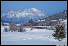 Lokomotion 185 679, Fieberbrunn 20-02-2016 (Henk Zwoferink) Tags: schnee tirol oostenrijk euro express henk muller 185 traxx 679 fieberbrunn lokomotion railpool zwoferink