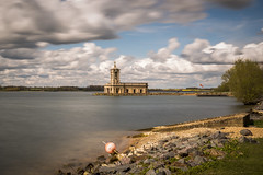 Normanton Church (Steve Millward) Tags: longexposure england church nature water season 50mm nikon raw leicestershire outdoor perspective sharp d750 rutland fullframe fx rutlandwater normanton primelens imagequality normantonchurch fixedfocallength