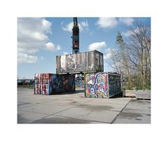 ** (ha*voc) Tags: urban 120 film amsterdam mediumformat rangefinder 6x7 urbanfragments 65mm mamiya7ii lomo800