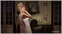 Strange sounds in the solitude of the night (Aradhelia diavolo) Tags: cosmopolitan argrace lelutka clockhaus avaway