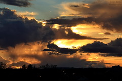 R.Kelly2426a (dobienet) Tags: sunset clouds scotland