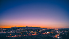 Golden Hour after Sunset (aotaro) Tags: longexposure sunset mountains silhouette japan dusk sony mountfuji yokohama goldenhour mtfuji atdusk ancienttomb fe35mmf28za ilce7m2 inarimaekofun