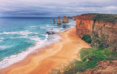 Take me back (FlavioSarescia) Tags: ocean travel sea summer sky nature landscape australia twelveapostles