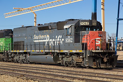 KYLE 9362 Limon 1 Jan 16 (AK Ween) Tags: railroad train colorado limon southernpacific espee emd tunnelmotor sd45t2 geneseewyoming kylerailroad kyle9362