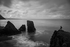 Edge (A_Cro) Tags: longexposure sea blackandwhite bw seascape monochrome wales landscape mono blackwhite northwales trefor llnpeninsula longexposurephotography welshlandscape welshflickrcymru bwflickr welshphotographer welshphotography northwalesdailypost