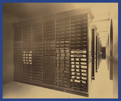 State Library Stacks, ca. 1895-1915 (State Library of Massachusetts) Tags: bostonmassachusetts massachusettsstatehouse massachusettslegislature statelibraryofmassachusetts