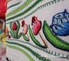 KikaBordados Kika  Krauss 122 (Kika Bordados by Angelica Krauss) Tags: flowers flores frutas fruits branco cores crochet craft bordados bordado croche panosdepratos bordadosfeitoàmão kikabordadoskikakrauss