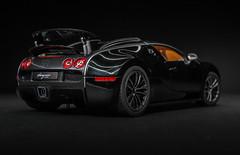 Executed to perfection. (TAF27) Tags: lightpainting black nikon noir 164 carbon bugatti sang aa cf carbonfiber eb veyron autoart bugattiveyron eb164 sangnoir d3100 nikond3100 veyronsangnoir