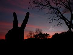 Hello from the other Side. / Hola desde el otro lado. (dArKn!X) Tags: travel sunset nature canon contraluz explore fotografia crepusculo pachamama peacelove mochilero canonista jnxfotografia