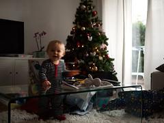 Le Pre Nol est pass (Dahrth) Tags: baby christmastree gifts fatherchristmas santaclaus bb cadeaux christmaspresent gf1 sapindenol panasoniclumixgf1 lumix20mm 20mmpancake gf120