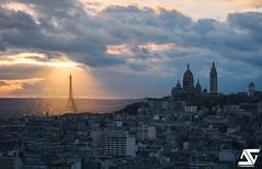 Illuminated (A.G. Photographe) Tags: paris french nikon europe eiffeltower montmartre sacrcoeur toureiffel ag capitale nikkor 70200 franais parisian franc anto xiii parisien d810 antoxiii agphotographe