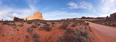On the Road (BongoInc) Tags: arizona utah monumentvalley panoramicview navajotribalpark