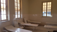 Ladies cooling room inside the Fordyce Bathhouse