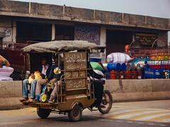 local transportation (Saifuddin Abbas) Tags: morning winter pakistan tricycle streetphotography rickshaw lahore
